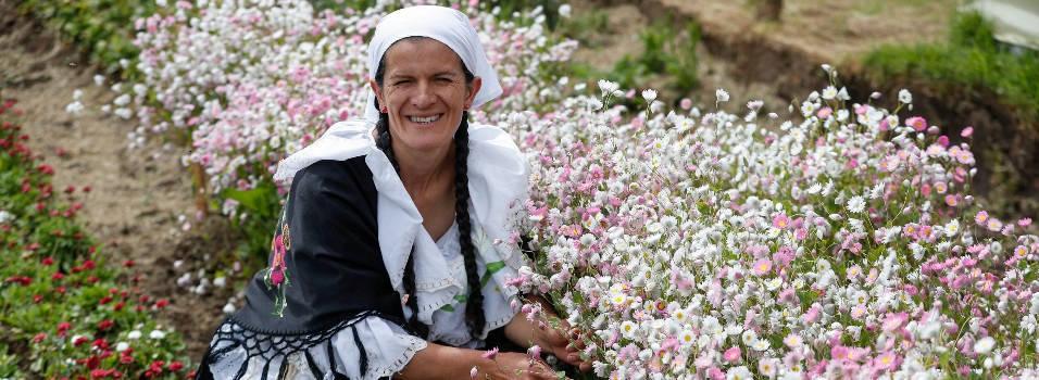 Marta Elena lleva en sus hombros la tradición de los silleteros envigadeños
