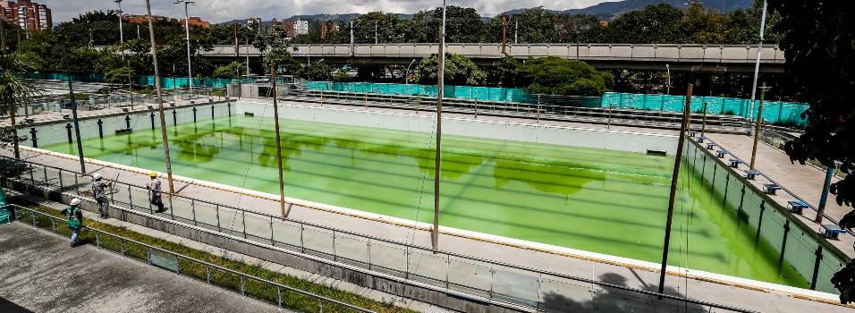 Renovación de las piscinas del Estadio estaría lista en diciembre