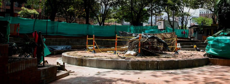 ¿Cuándo terminarán el mantenimiento del parque de El Poblado?