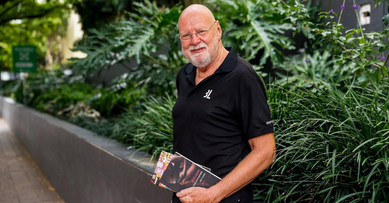 Después de 55 libros, Björn escribió una novela en español