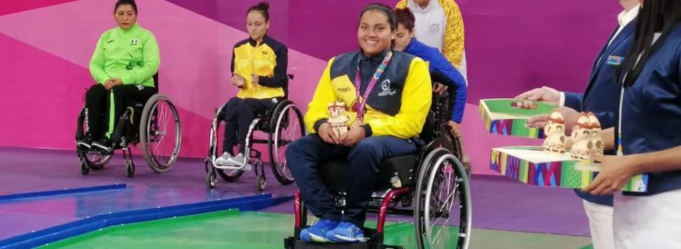 Envigadeña ganó 2 bronces en los Parapanamericanos