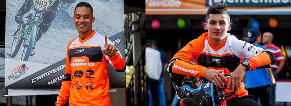 Gabo y Goofy, los bicicrosistas mundiales de Envigado