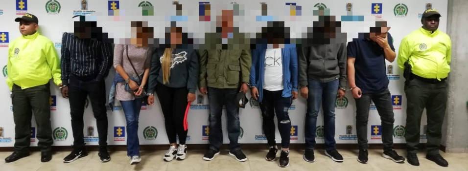 Cae banda señalada de proxenetismo de menores de edad en Medellín