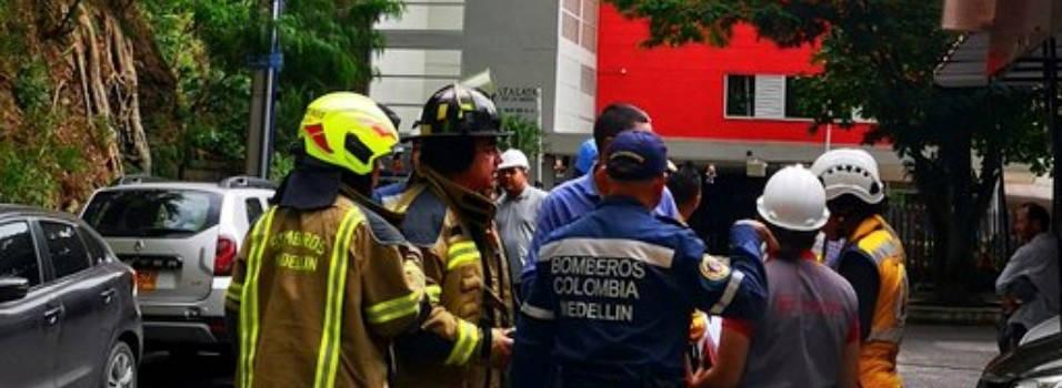 Edificio en La Mota fue evacuado por falla estructurales