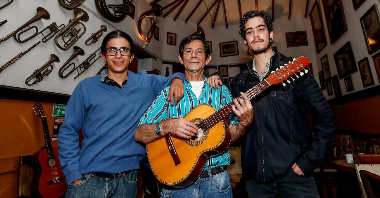 El dueto Espinosa y Montoya le canta a Colombia