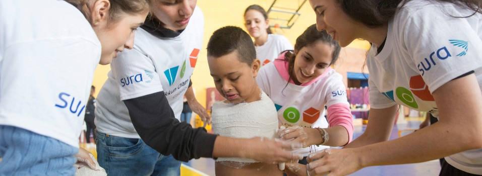 Ellos están listos para cambiar vidas en 72 horas