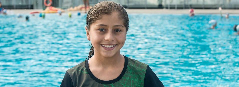Envigadeña de 11 años ganó 2 oros en la Copa Pacífico de Clavados