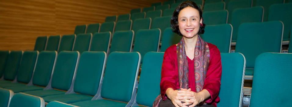 Lina Castaño se lleva la Casa Teatro El Poblado en el corazón