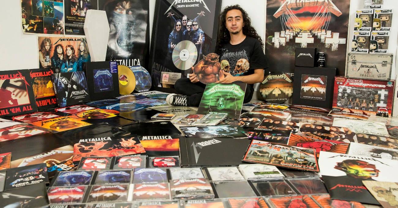 Metallica, la obsesión de Sebastián