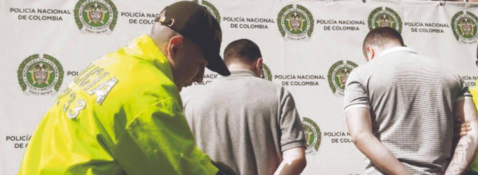 capturan a 2 hombres señalados de robar un cajero en la 70