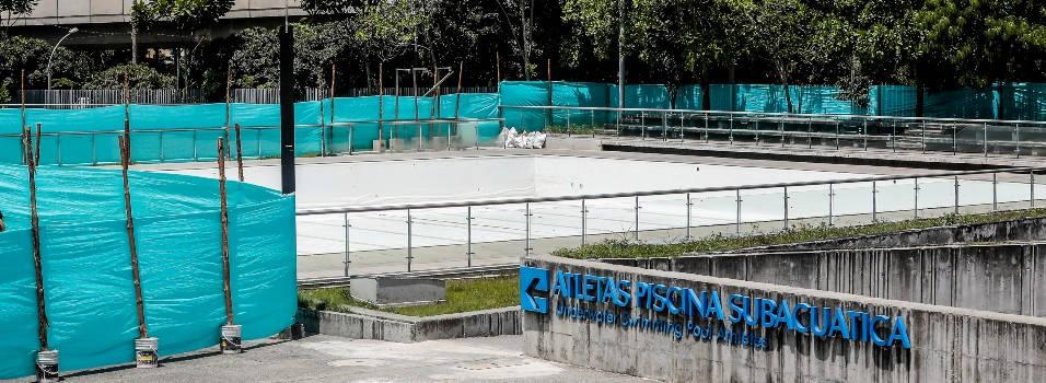 Deportistas, afectados por el cierre de las piscinas del Estadio
