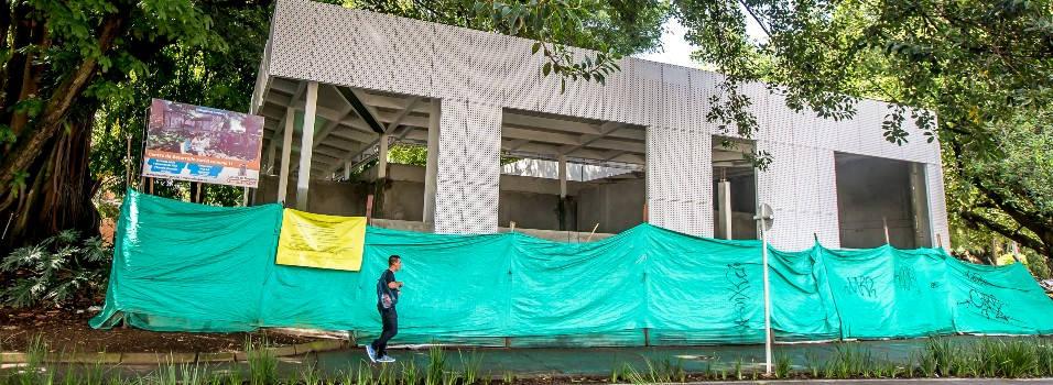 Nada que terminan el Centro de Desarrollo Social en Laureles