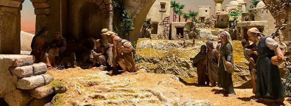 Visite la tradicional Exposición de Pesebres en El Castillo