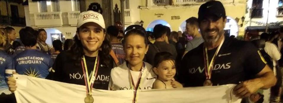 Club Nómadas, de Envigado, ganó oro en centroamericanos de orientación