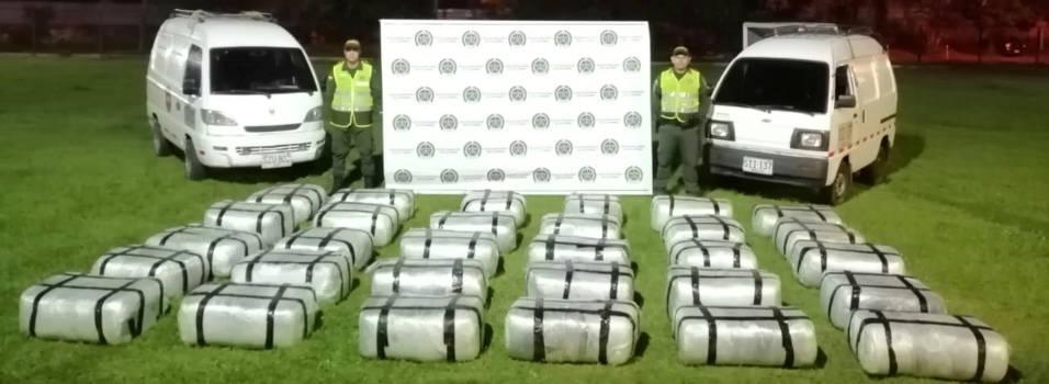 Incautaron 750 kilos de marihuana en Envigado