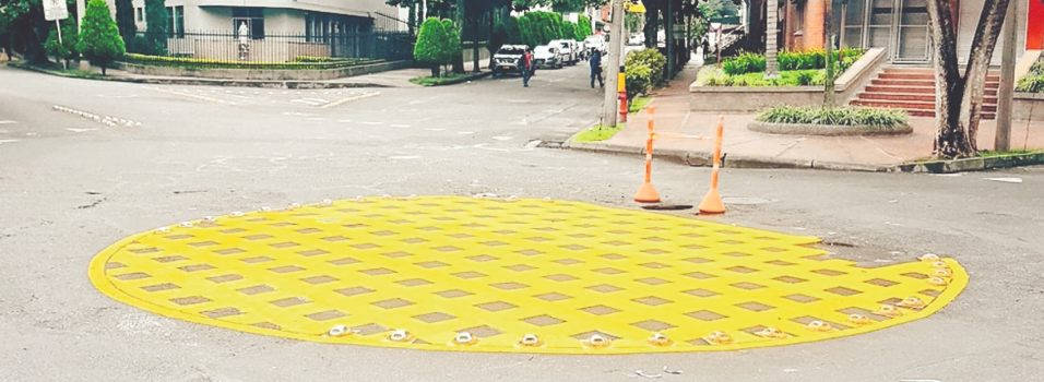 Por fin pintaron algunas señales de tránsito en Laureles