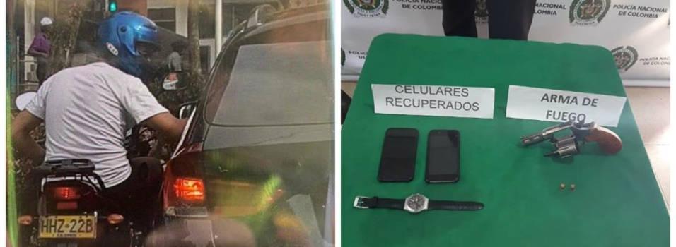 Presunto fletero de 16 años fue aprehendido en Suramericana