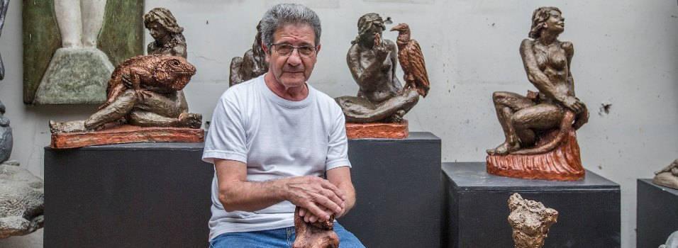 Aprenda de escultura en Envigado con Miguel Ángel Betancur