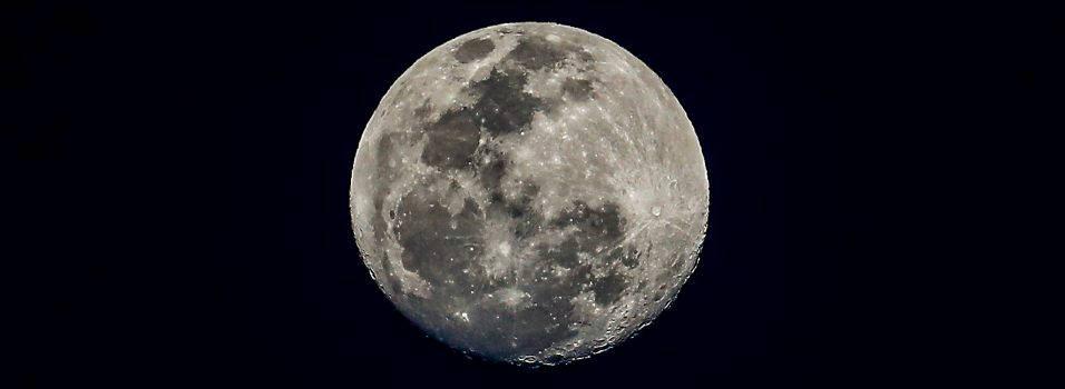 Así se vio la primera luna llena de 2020 desde Envigado