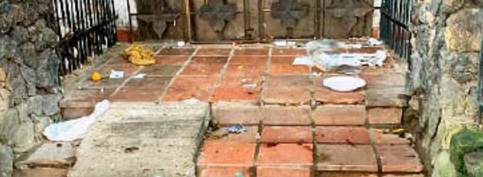 Casa abandonada en Laureles es foco de basuras y consumo de drogas
