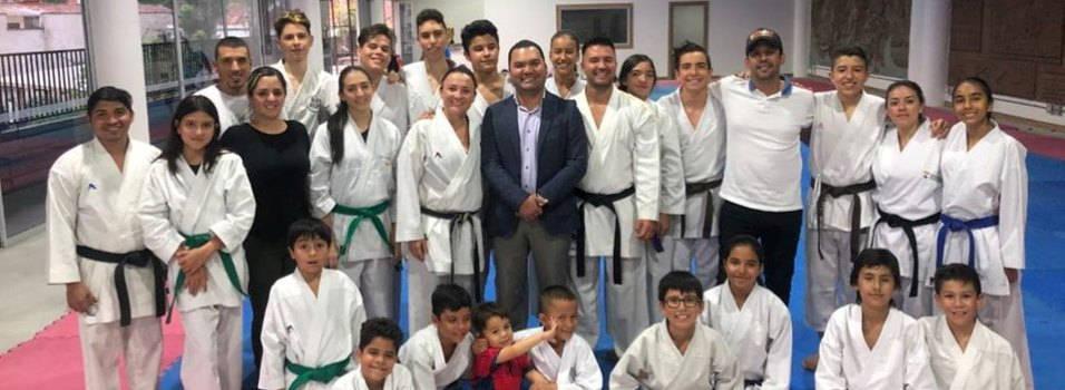 Envigado estrena nuevo salón de karate