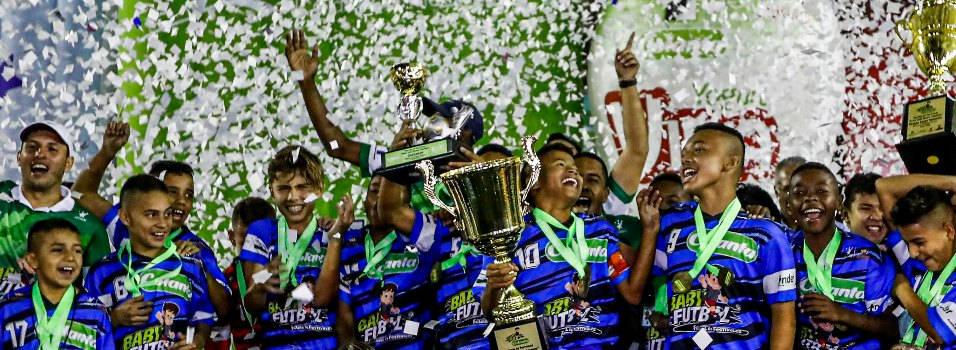 La Nubia fue campeón por cuarta ocasión del Babyfútbol