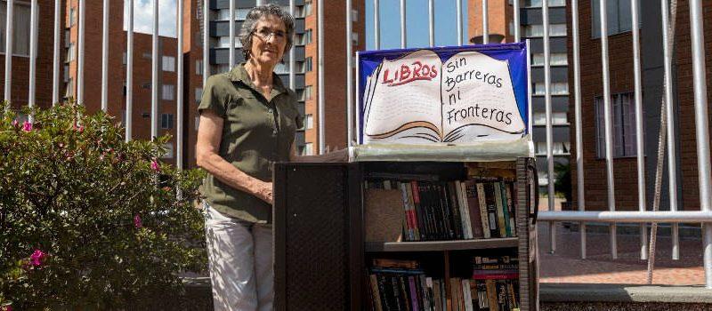 En una unidad de Belén crearon una biblioteca para los vecinos
