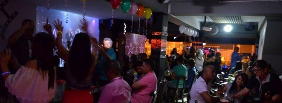 Video bar La Rockola de la avenida 33, Medellín